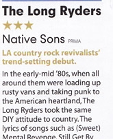 Long Ryders Mojo Native Sons review