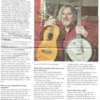 Nottingham Post Sid Griffin Solo Interview