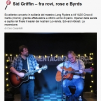 Gagarin-Magazine Sid Griffin Solo Italian Review