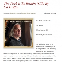 Cashbox The Trick Is To Breathe Review
