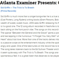 Atlanta Examiner The Trick Is To Breathe Review