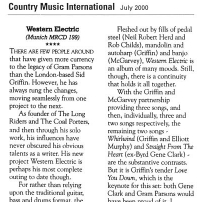 Western Electric Review - Country Music International, July 2000