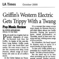 LA Times, October 2000