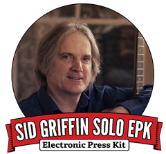 Sid Griffin Electonic Press Kit