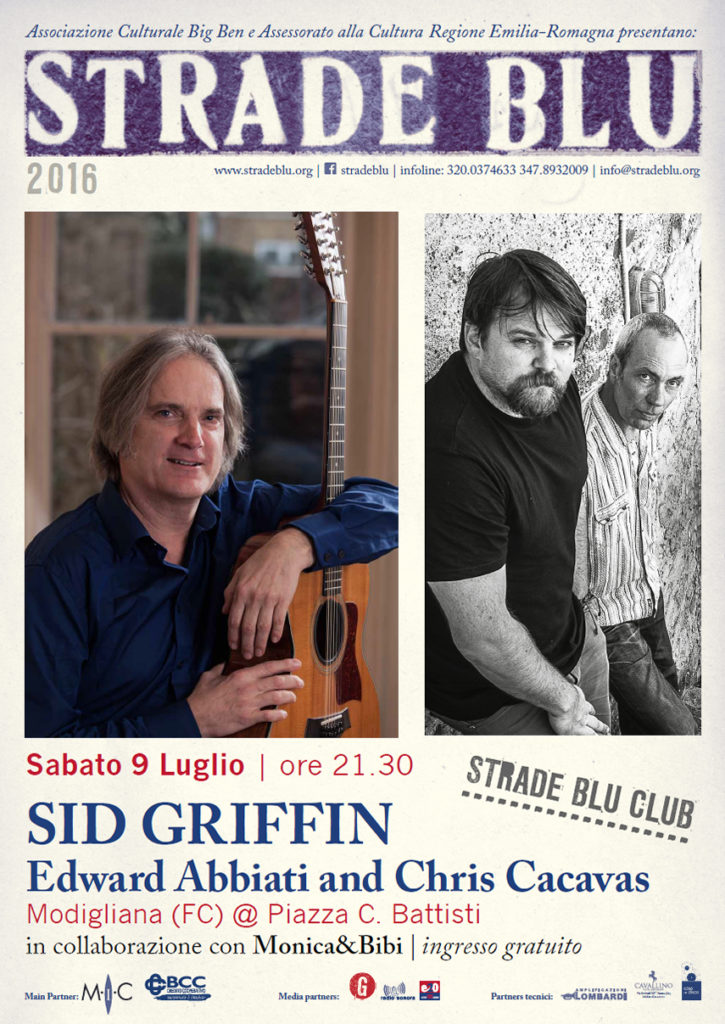 Sid Griffin at Strade Blu