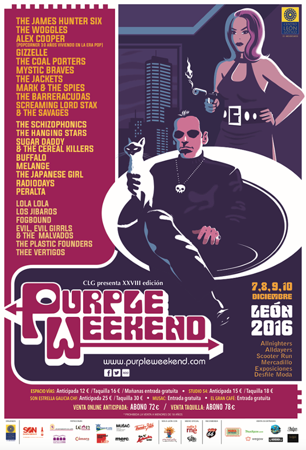 The Purple Weekend – 2016 Poster