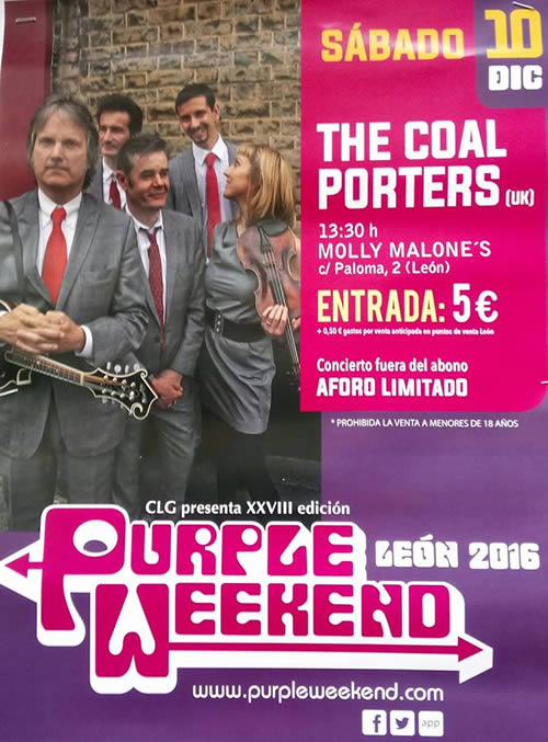 Festival Internacional Purple Weekend Poster