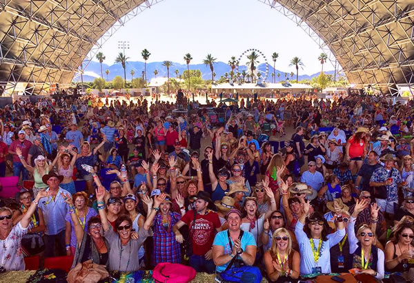The Long Ryders Live at Stagecoach - The View From The Stage