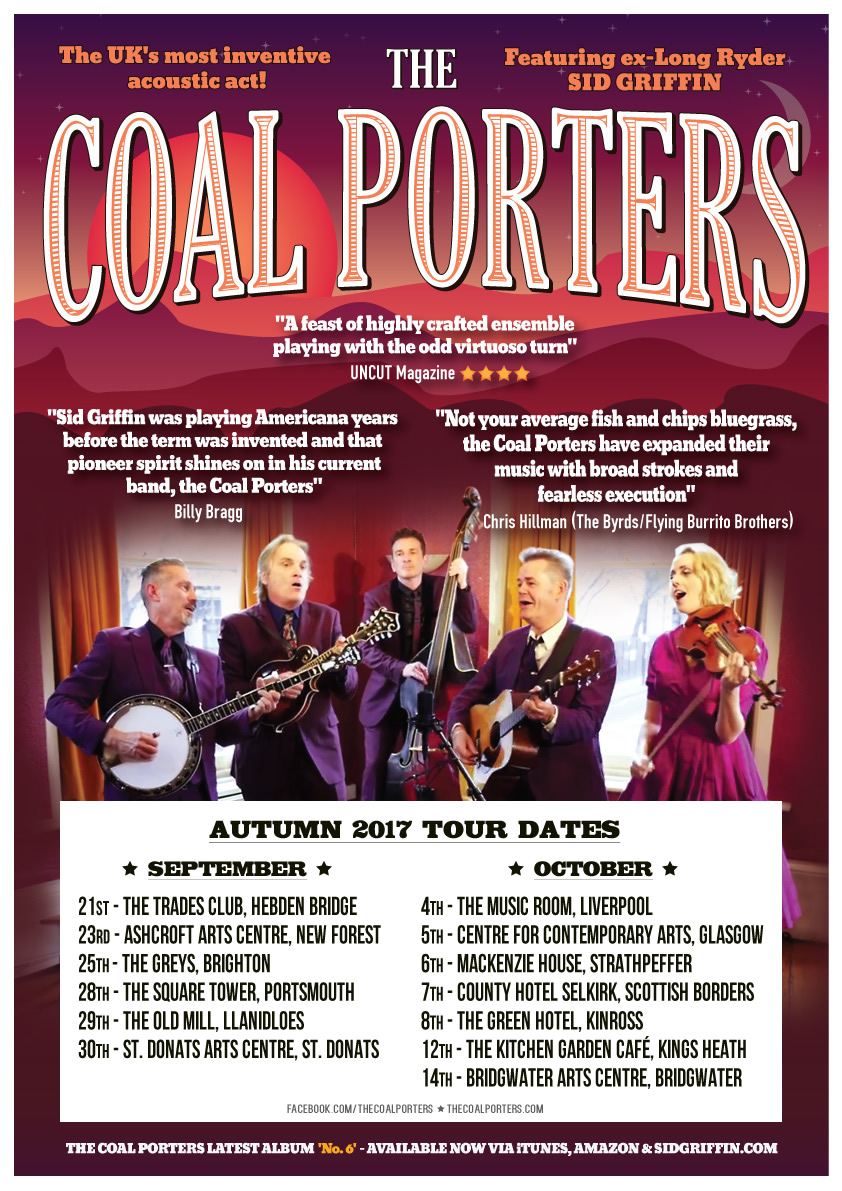 2017 The Coal Porters On Tour