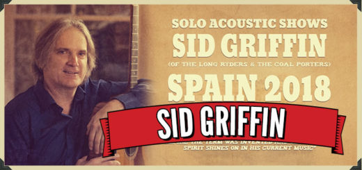 Sid will play five solo shows in Spain in February 2018